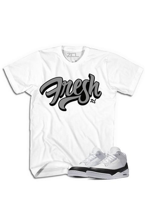 "Air Jordan 3 ""Fresh"" Tee Fragment - Zamage"