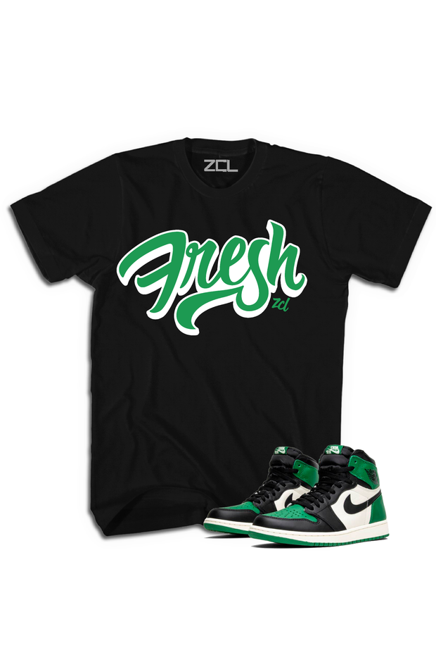 "Air Jordan Retro 1 ""Fresh"" Tee Pine Green - Zamage"