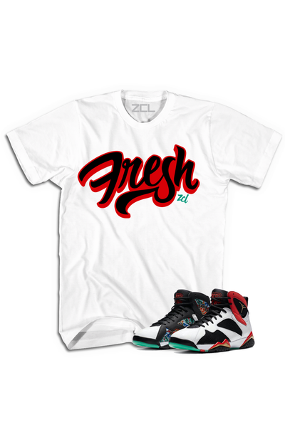 "Air Jordan 7 China ""Fresh"" Tee Chile Red - Zamage"