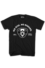 ZCL No Risk No Reward Tee Black - Zamage
