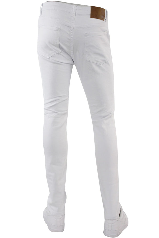 Multi Style Backin Skinny Fit Denim White (M4666T) - Zamage