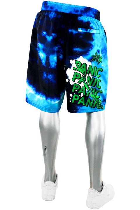 Nylon Board Shorts - Blue (111-931) - Zamage