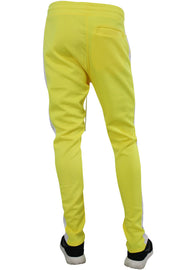 Side Stripe Track Pants Neon Yellow (1914)