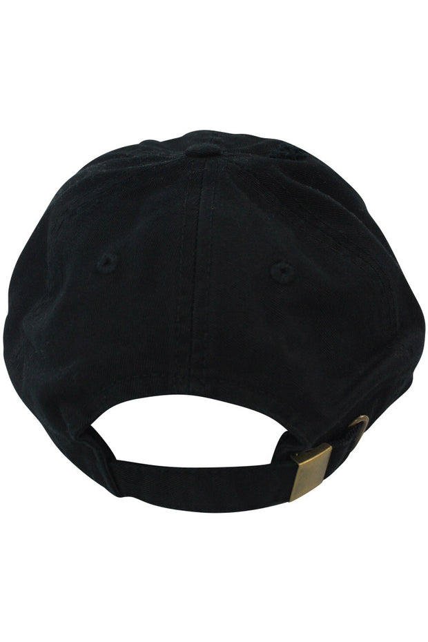 Money Talks Strapback Hat Black (MONEYT 22S)