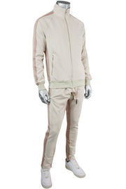 Jordan Craig Dual Stripe Track Pants Plush Cream (8333A 22S) - Zamage