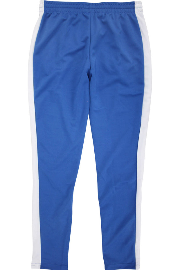 Side Stripe Zip Pocket Track Pants Royal - White (ZCM4418PS)