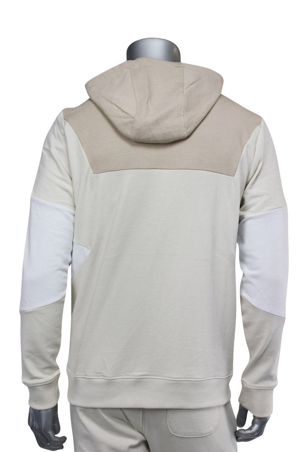 Jordan Craig Full-Zip Color Block Hoodie Sand (8334HA 22S) - Zamage