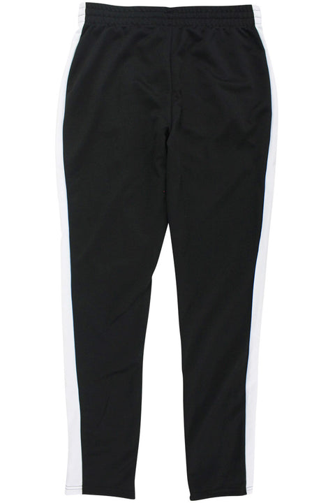 Side Stripe Zip Pocket Track Pants Black - White (ZCM4418PS)