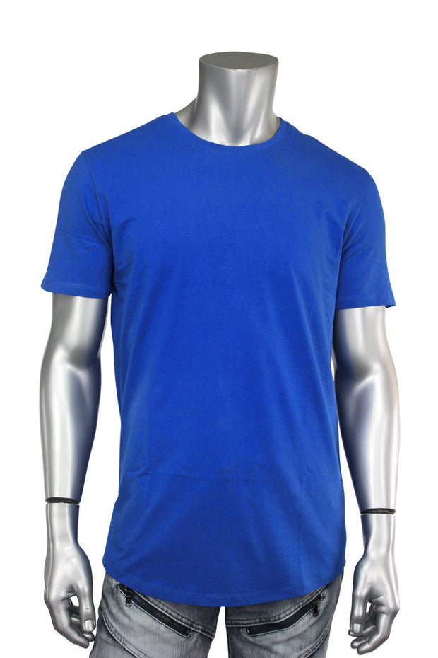 Jordan Craig Elongated Tee Royal (8991A 22S) - Zamage