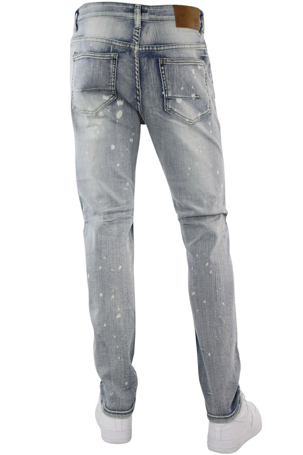 Moto Backin Skinny Fit Denim Antique Bleach (M4589R1D)