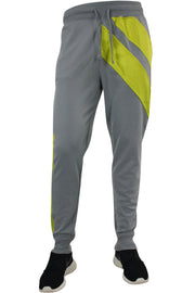 Color Block Tech Fleece Pants Grey (1405) - Zamage