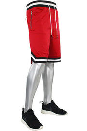 Jordan Craig Poly Mesh Shorts Red - Black (8289S 22S)