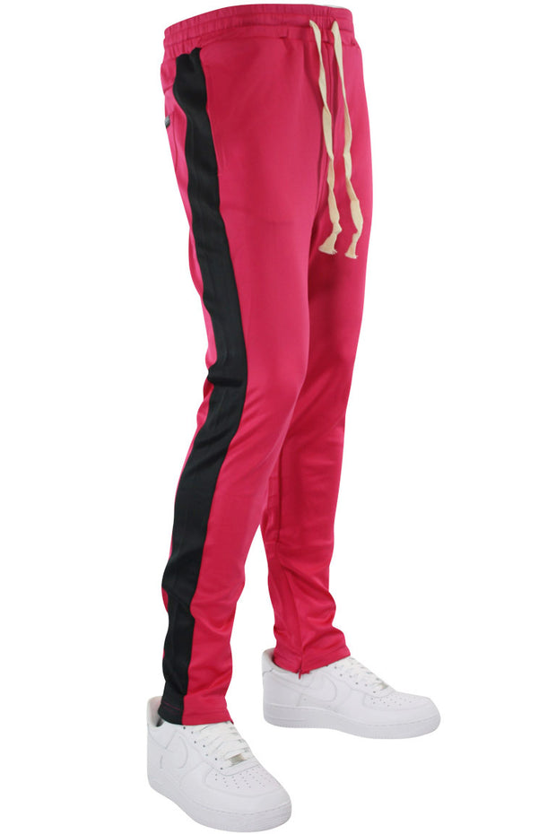 Side Stripe Track Pants Fuchsia - Black (HF9602)