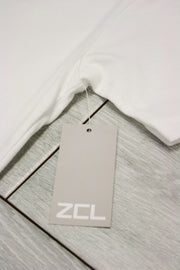 ZCL Self Made Tee White - Blue (ZCLMADE)