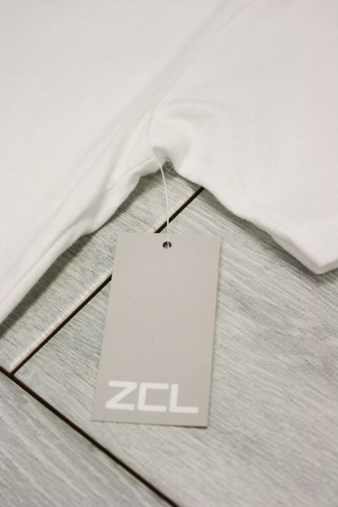 ZCL Self Made Tee White - Grey (ZCLMADE)