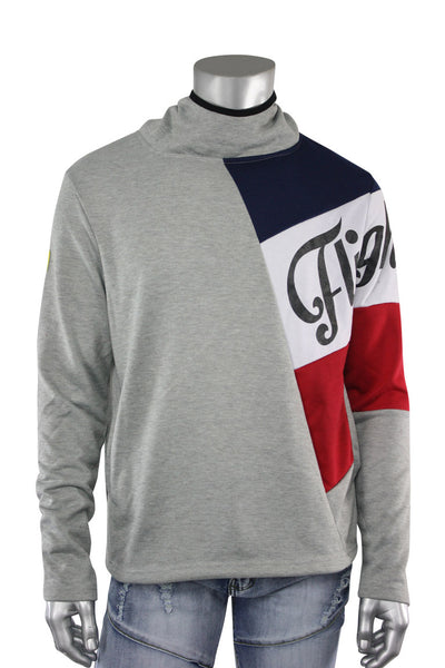 French Terry Flight Pullover Hoodie Grey (FLIGHT 22S) - Zamage