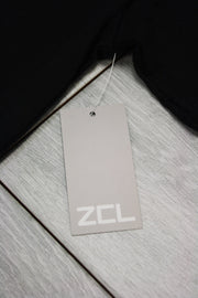 ZCL Self Made Tee Black - White (ZCLMADE)