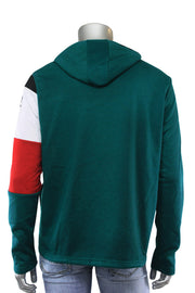 French Terry Flight Pullover Hoodie Hunter Green (FLIGHT 22S) - Zamage