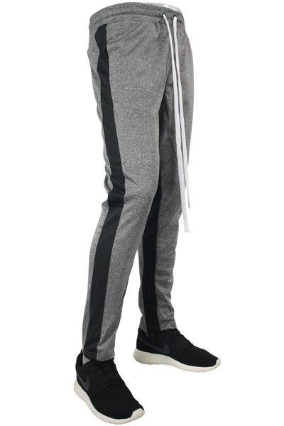 Side Stripe Track Pants Marled Black (1914)