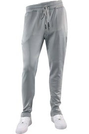Premium Solid Track Pants Grey (ZCM4842)