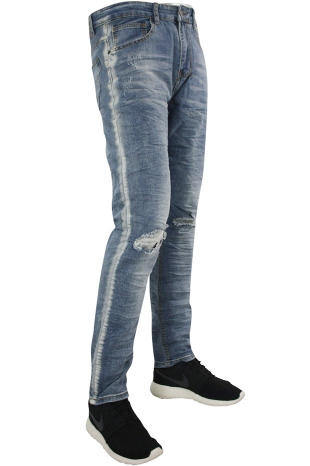 Track Fade Skinny Fit Denim Light Blue (M4586D)