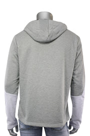 Chenille French Terry Hoodie Grey (CHENILLE 22S)