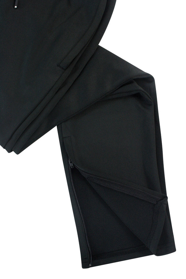 Premium Solid Track Pants Black (ZCM4842)