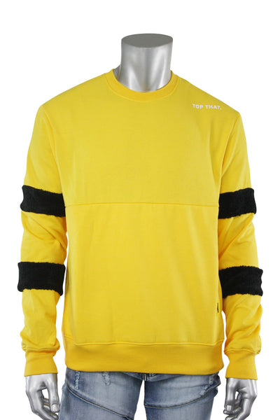 Top That Crewneck Sweater Yellow (19655 22S)