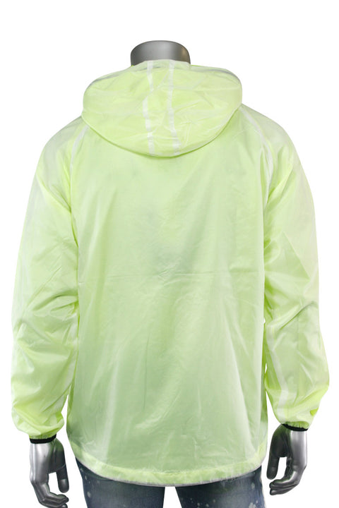 Neon Windbreaker Jacket Yellow (J006) - Zamage
