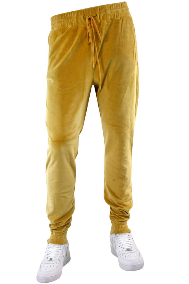 Velour Jogger Timber (1A2-410) - Zamage