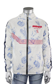 Good Vibes Only Printed Jacket White (19909 22S) - Zamage