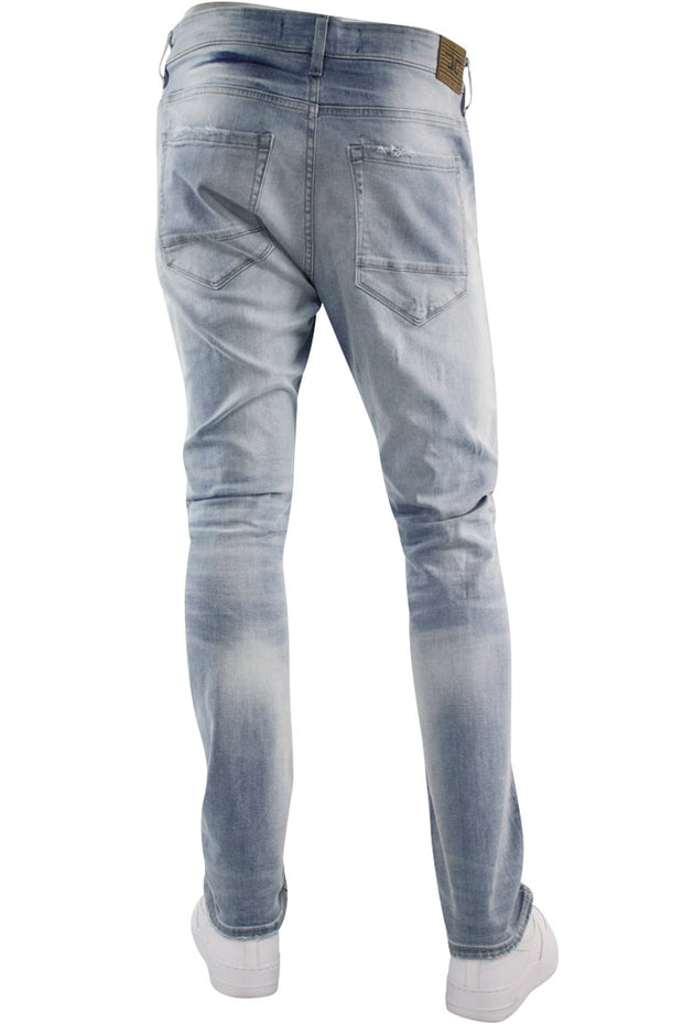 Jordan Craig Rip And Repair Slim Fit Denim Lightning Blue (JM3292 22S)