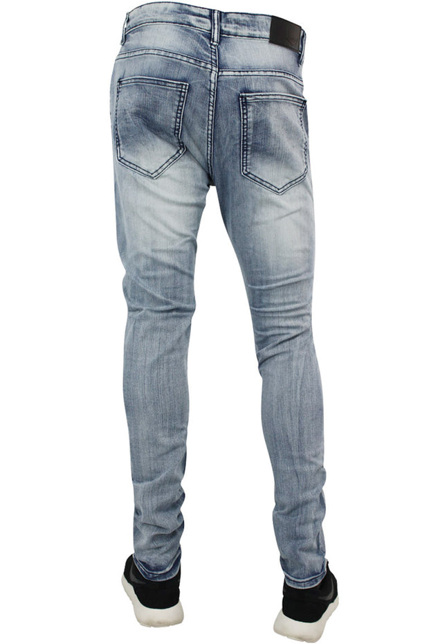 Moto Skinny Fit Denim Bleach Wash (M4462DA)