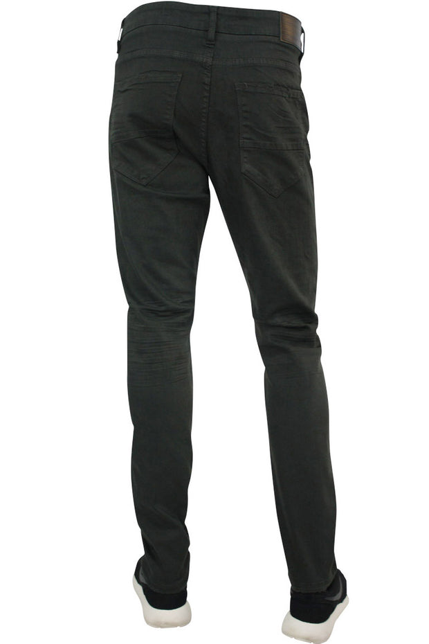 Jordan Craig Shredded Slim Fit Denim Charcoal (JM3230)