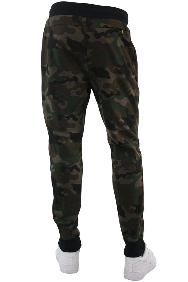 Basic Fleece Joggers Woodland (192-451)