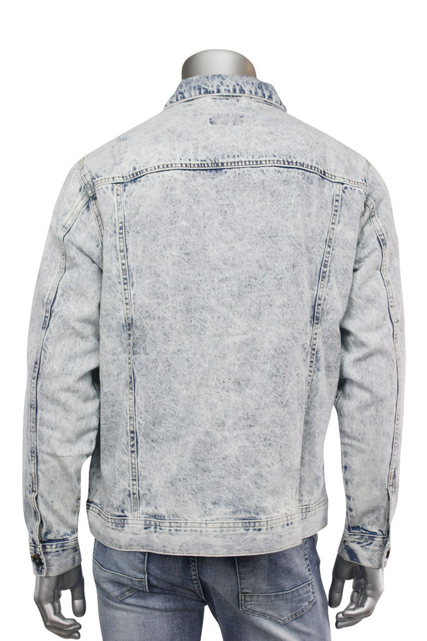 Denim Jacket Acid Wash (M6036D) - Zamage