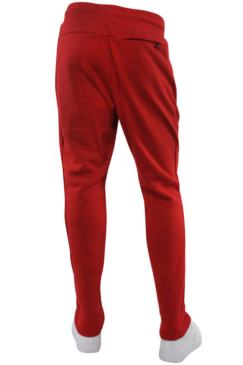 Basic Fleece Joggers Red (192-451)