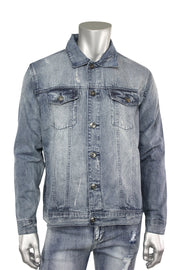 Denim Jacket Brush Wash (M6036D)