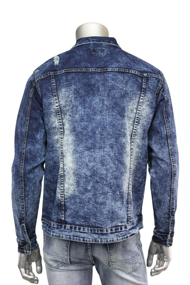 Denim Jacket Blue - Grey (M6010R1DA 22S) - Zamage