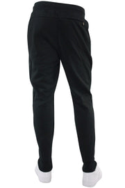 Basic Fleece Joggers Black (192-451) - Zamage