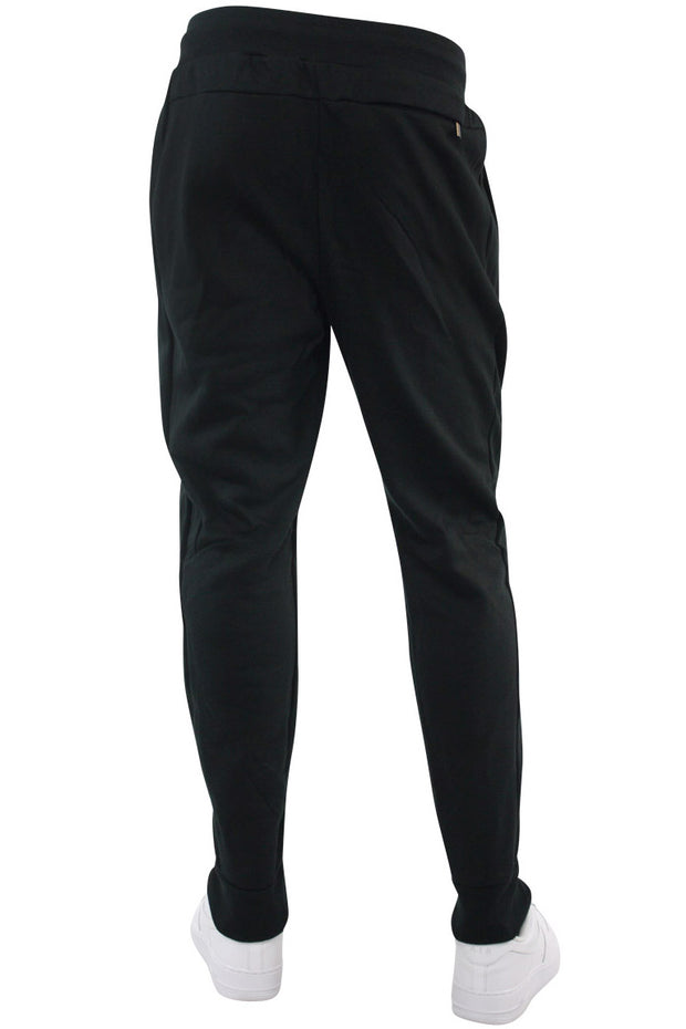 Basic Fleece Joggers Black (192-451)