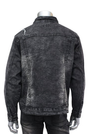 Denim Jacket Grey Wash (M6010R1DA)