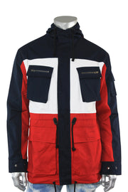 Twill Quest Jacket Dark Red (192-537 22S)