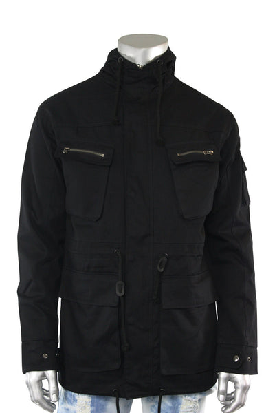 Twill Quest Jacket Black (192-537 22S)