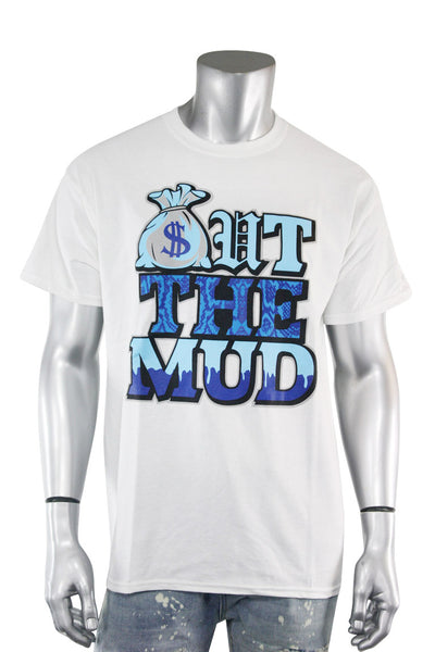 Out The Mud Tee White (2179)