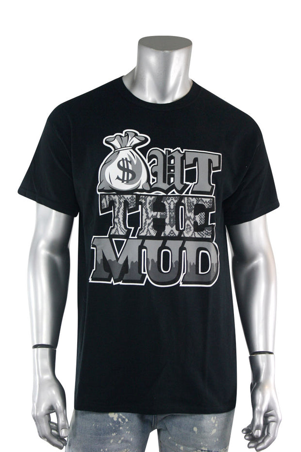 Out The Mud Tee Black (2179)