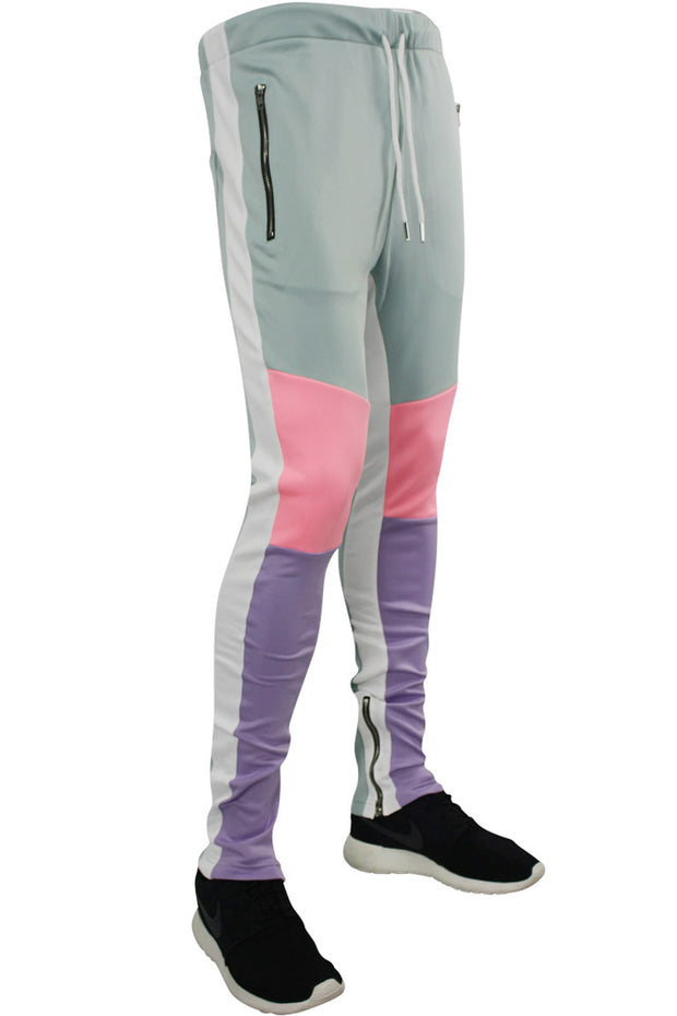 Tricot Track Pants Mint - Purple - Pink (JP9180)