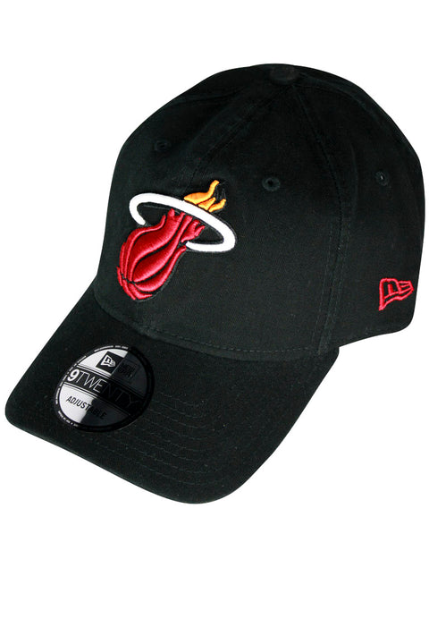 New Era Core Classic Miami Heat Strapback Hat Black (MIAHEABLK 22S) - Zamage