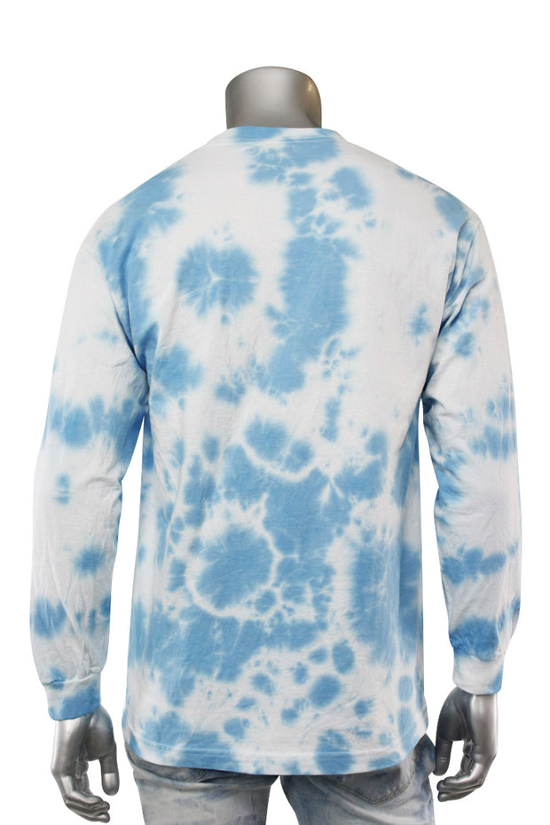 Legend Tie Dye Long Sleeve Tee Blue (9189TDL)