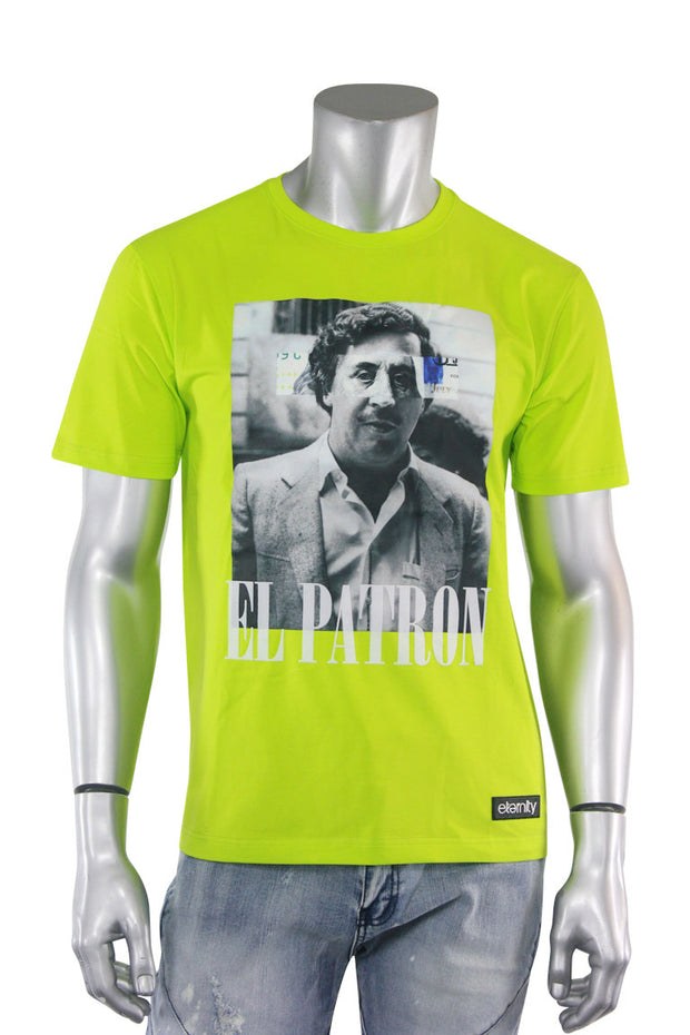 Premium El Patron Tee Voltage Green (3530)